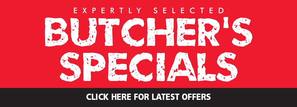 Butcher special banner