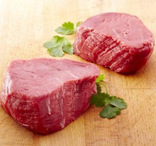 FILLET STEAKS RAW