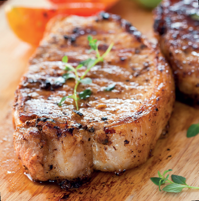 pork loin steak 720g